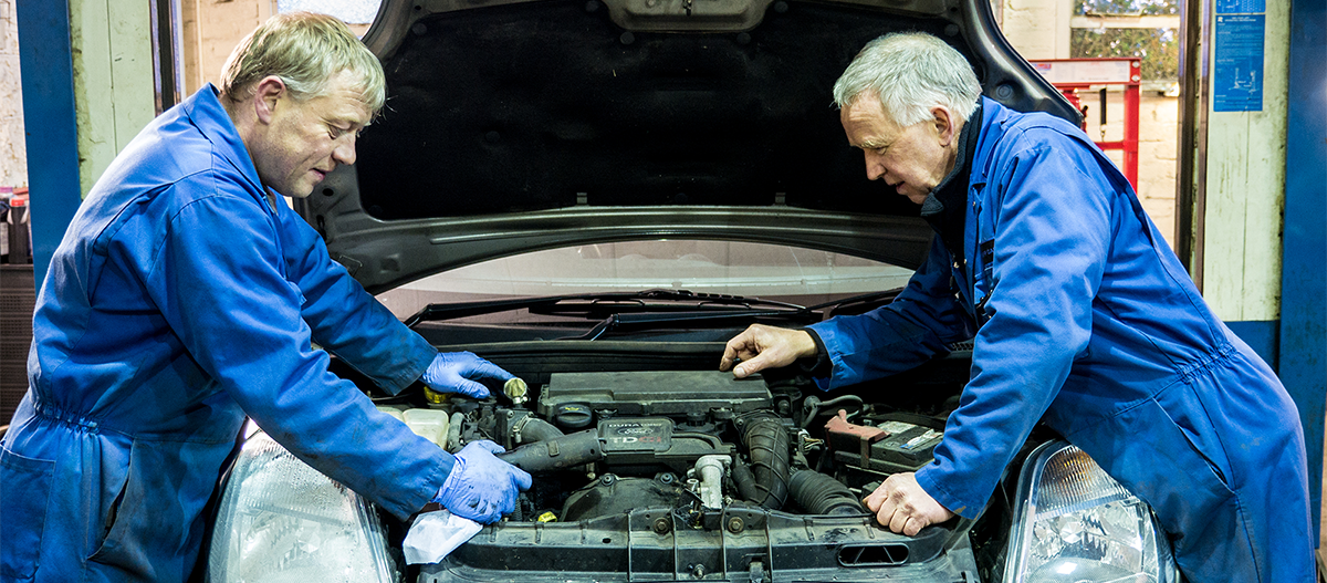 For Car Servicing Crieff Garage are your Local Experts